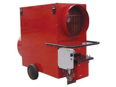 Fuel Burning Air Heating Blower